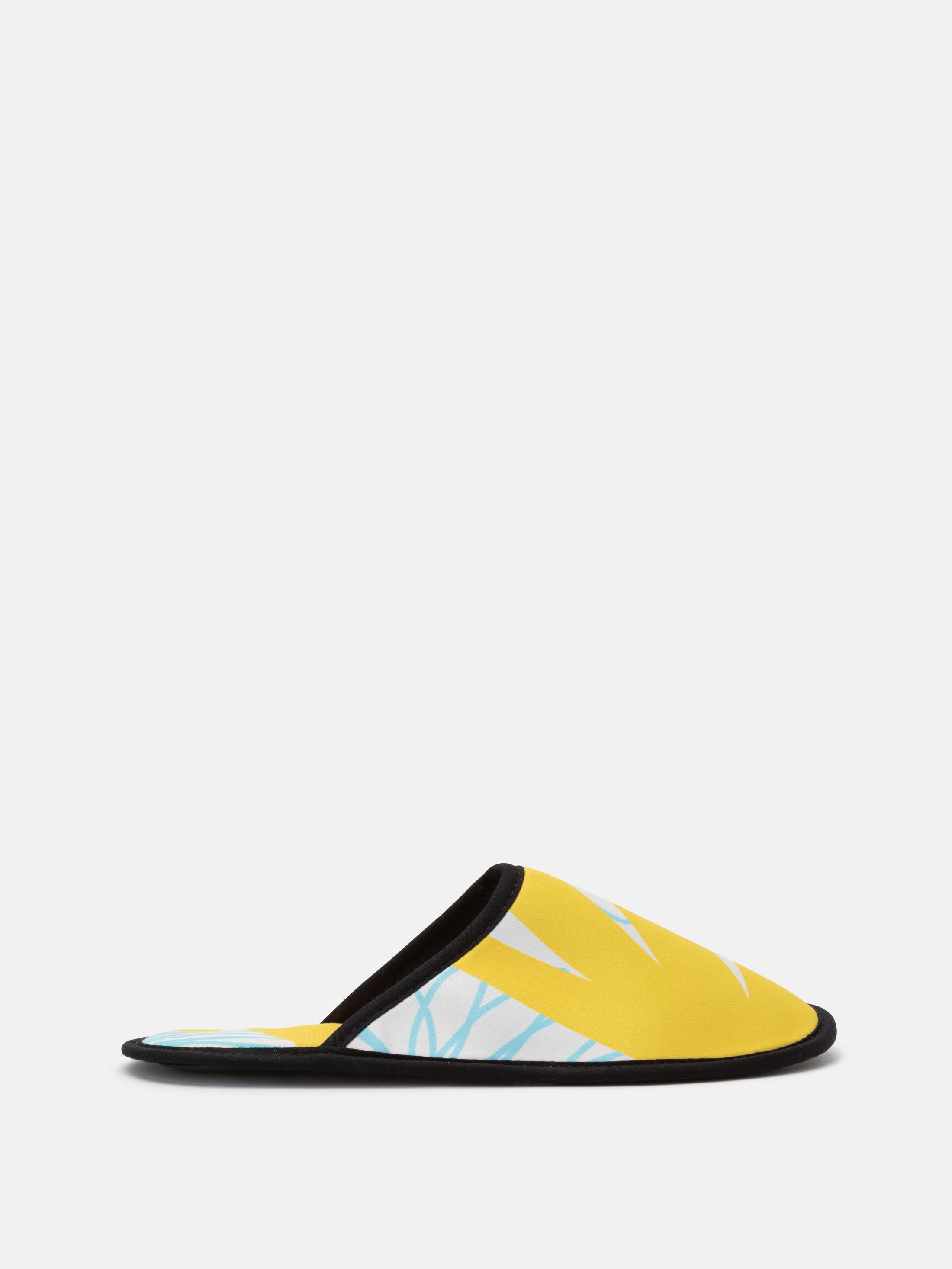 Artist designed beautiful slippers custom made