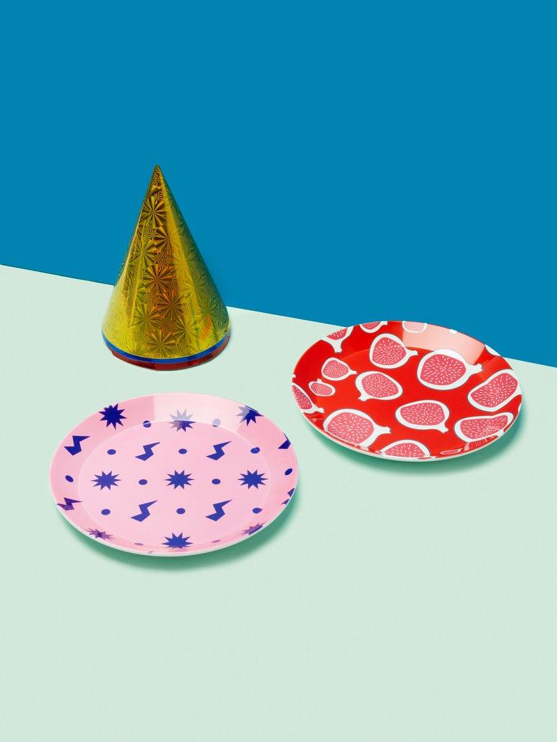 custom party plates