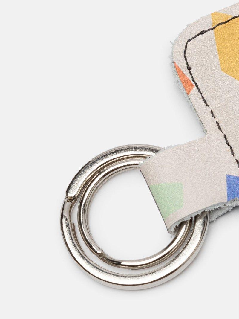 Personalisierter Schlüsselanhänger aus Leder