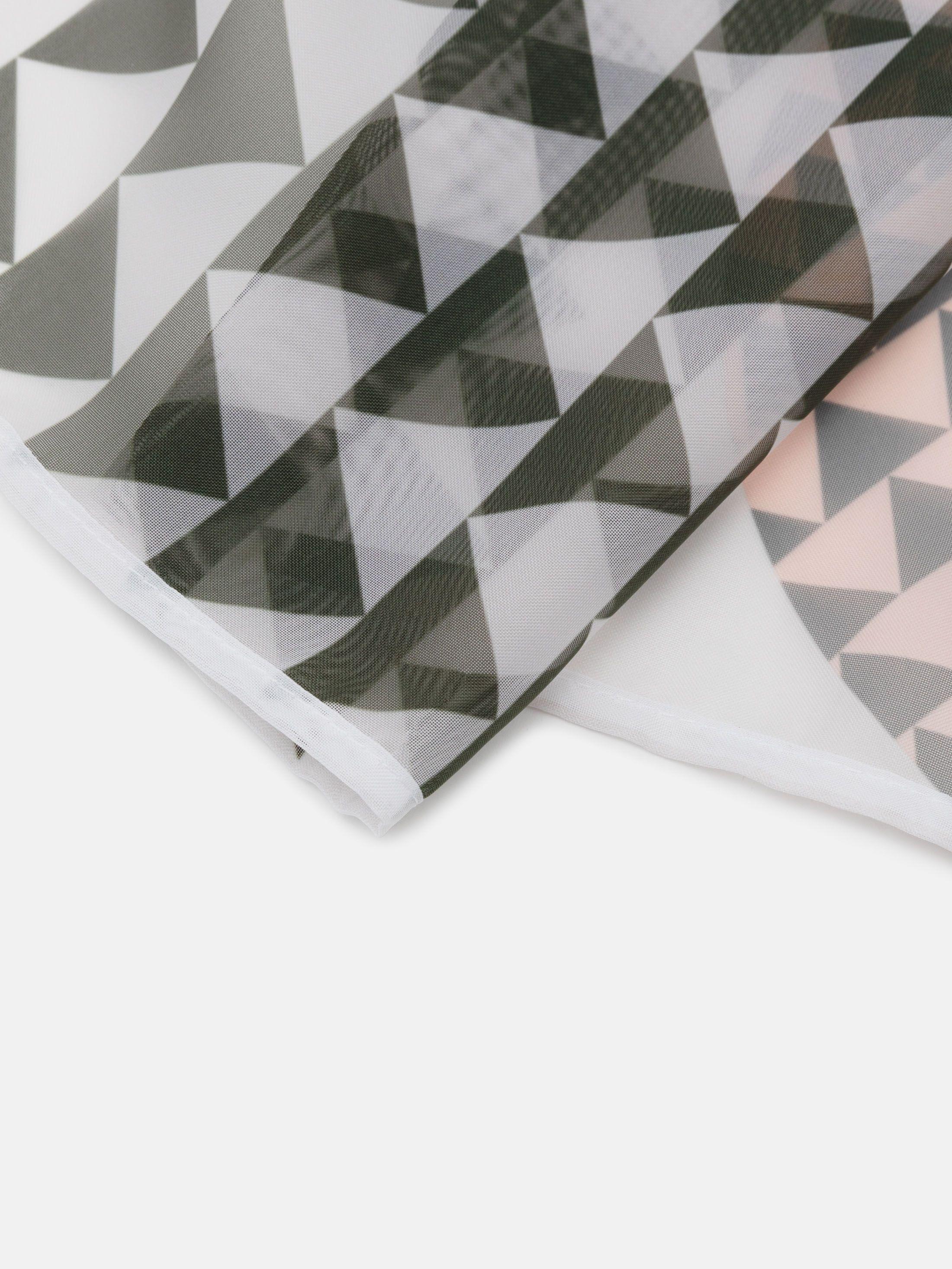 ボイル生地 カーテン デザイン印刷