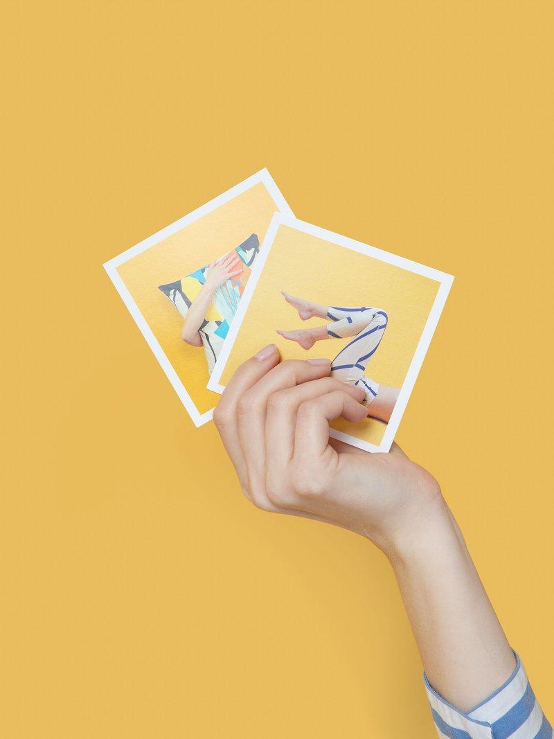 hand printed  instagram prints