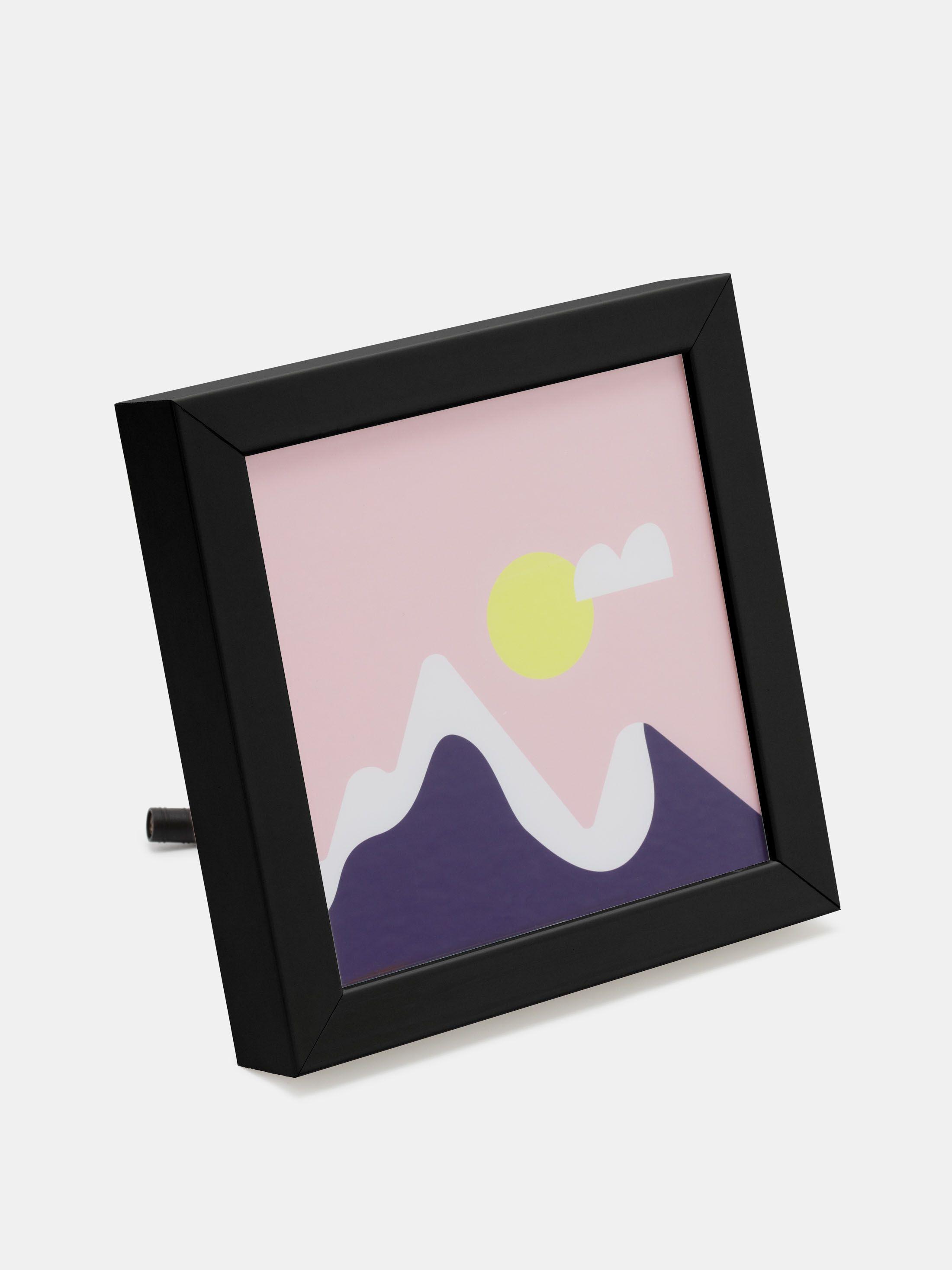 make your own light up frame