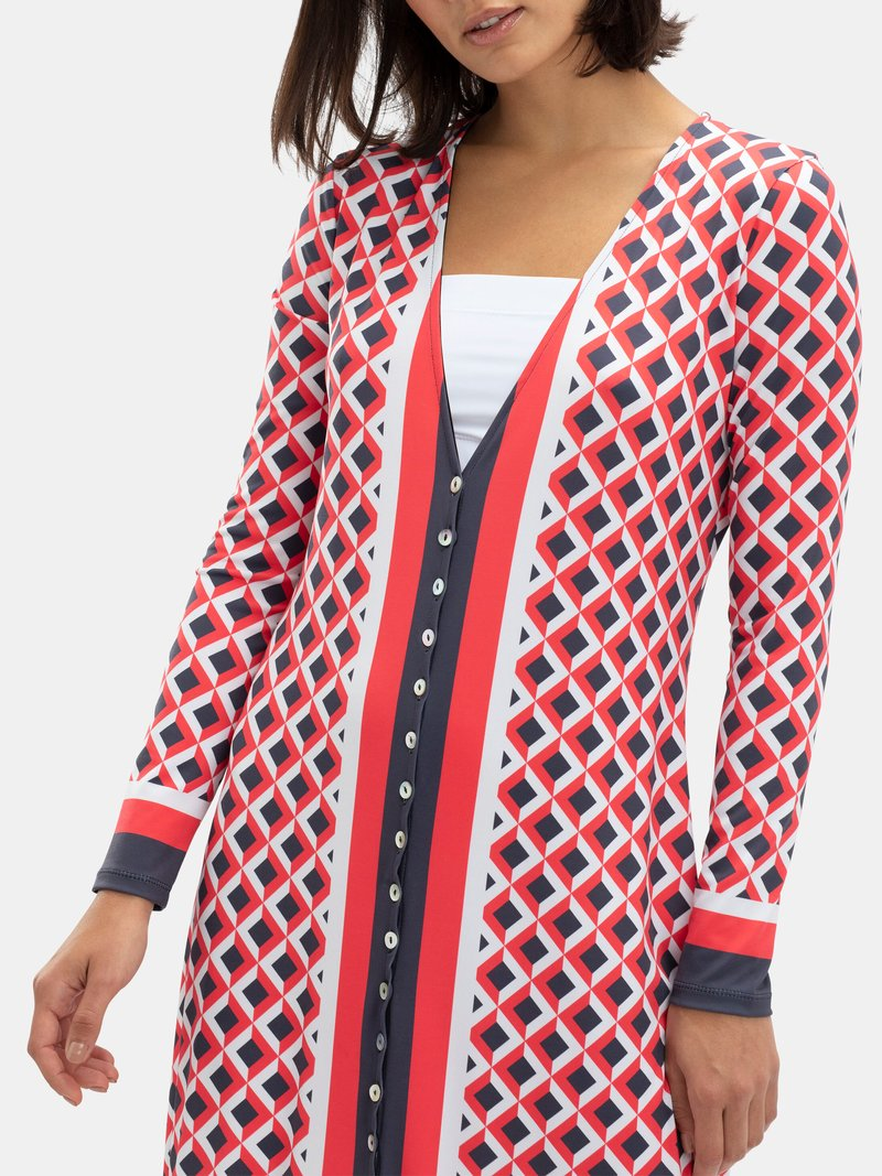 create your own button through dress