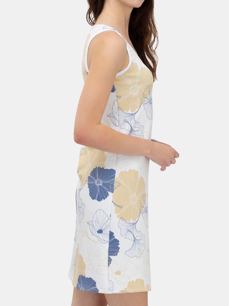 Vest Dress Details ribbing and label