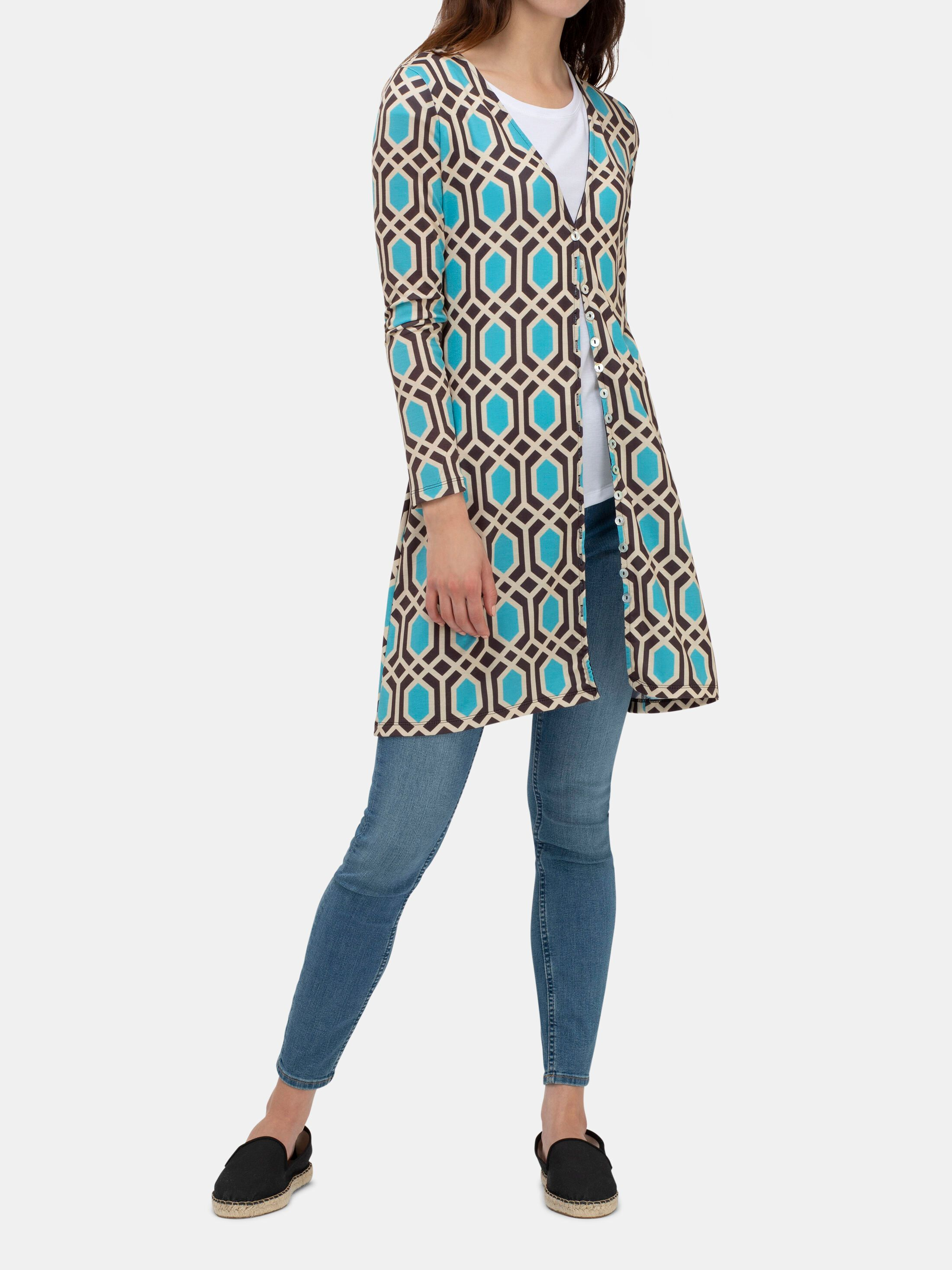 Design your own custom women's printed cardigan