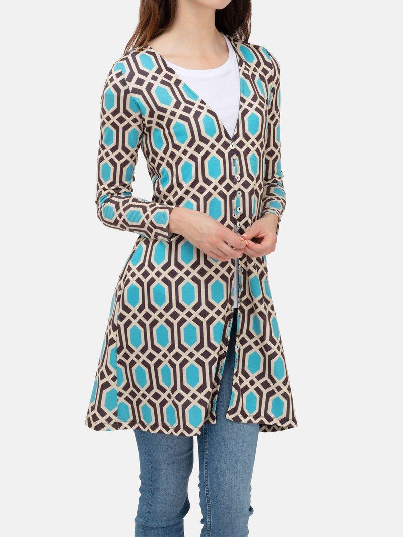 customized womens cardigan detail