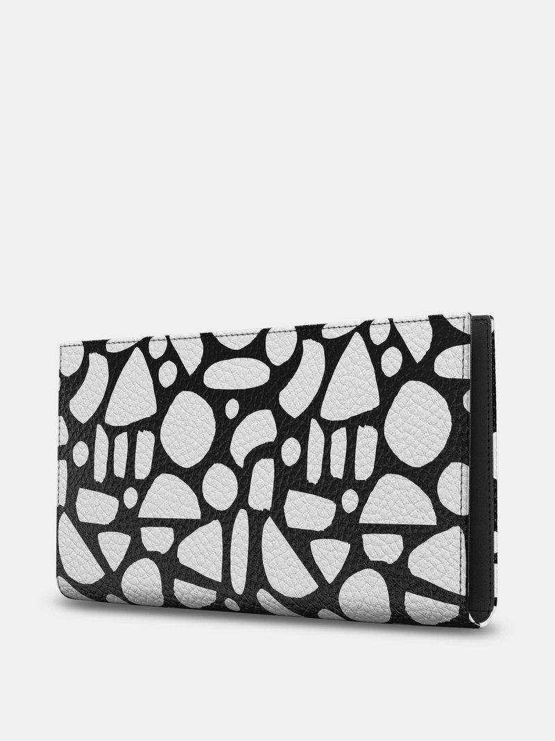 handmade leather travel wallet