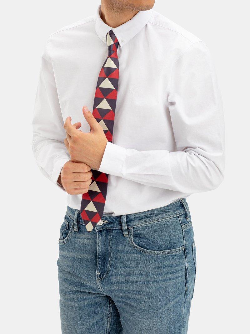 stampa su cravatta