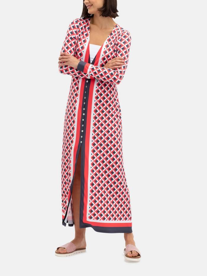 klänning med eget tryck