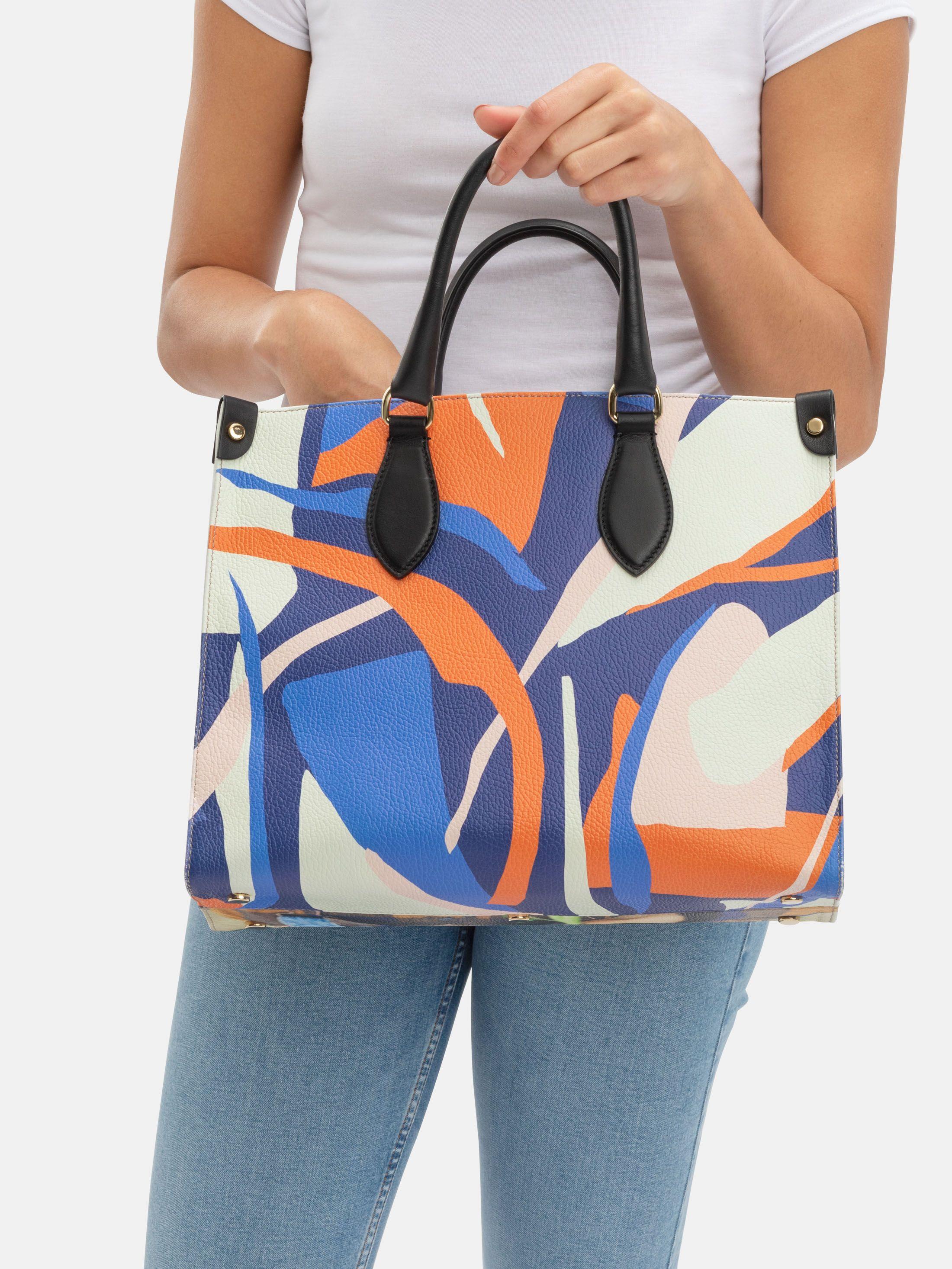Stampa su Shopper Bag in Pelle