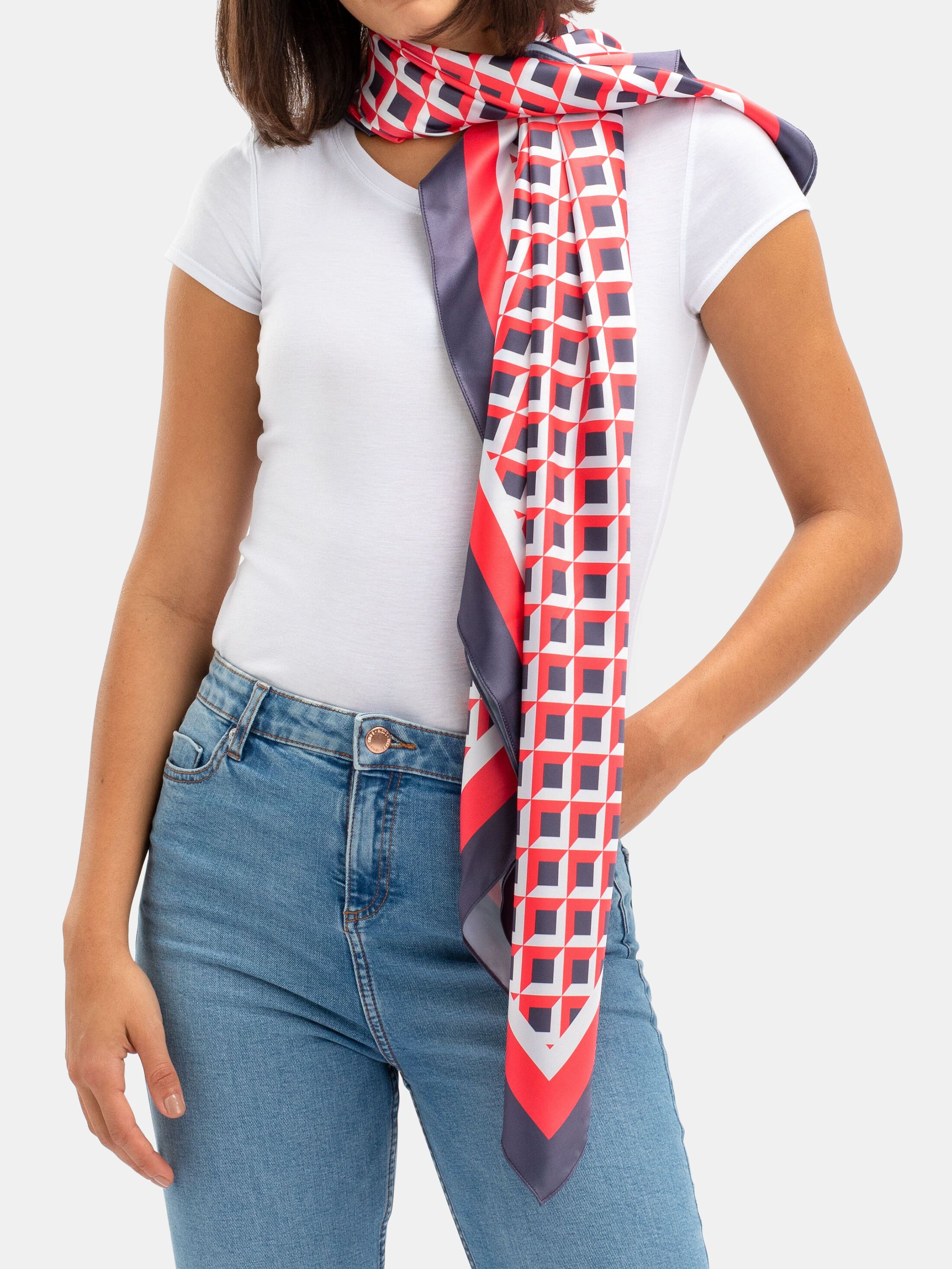 design your own silk scarf