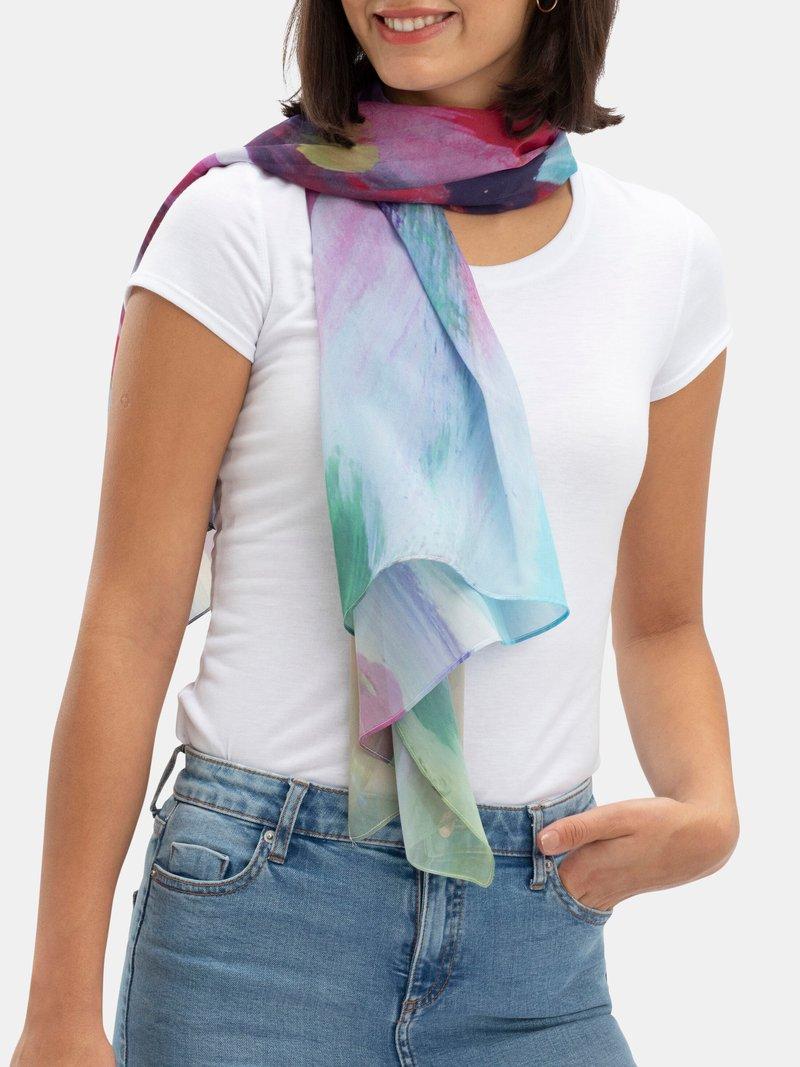 silk scarf printing