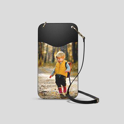 personalised phone bag