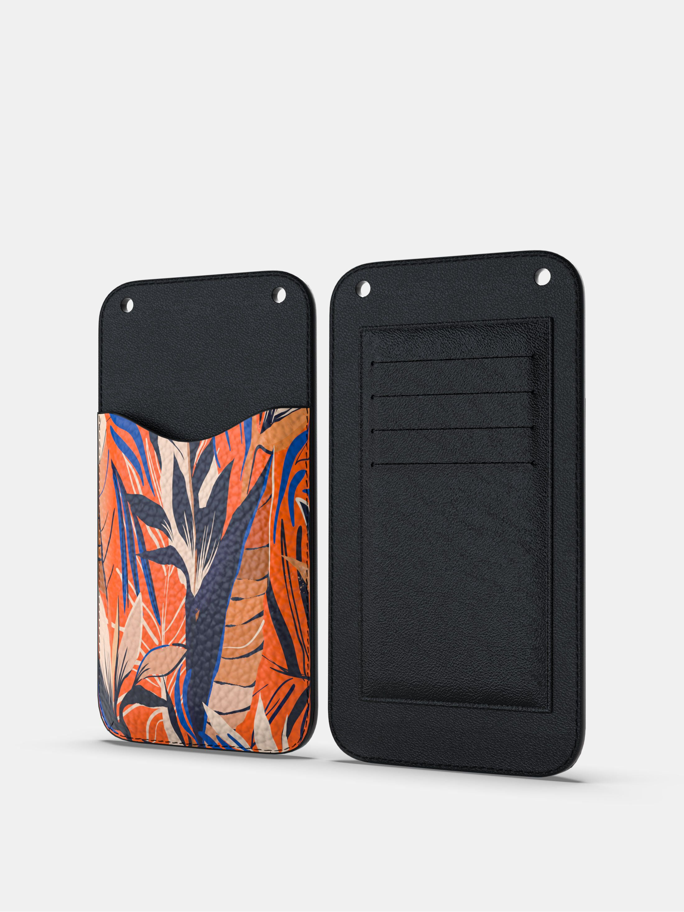 Unikt telefonfodral i läder