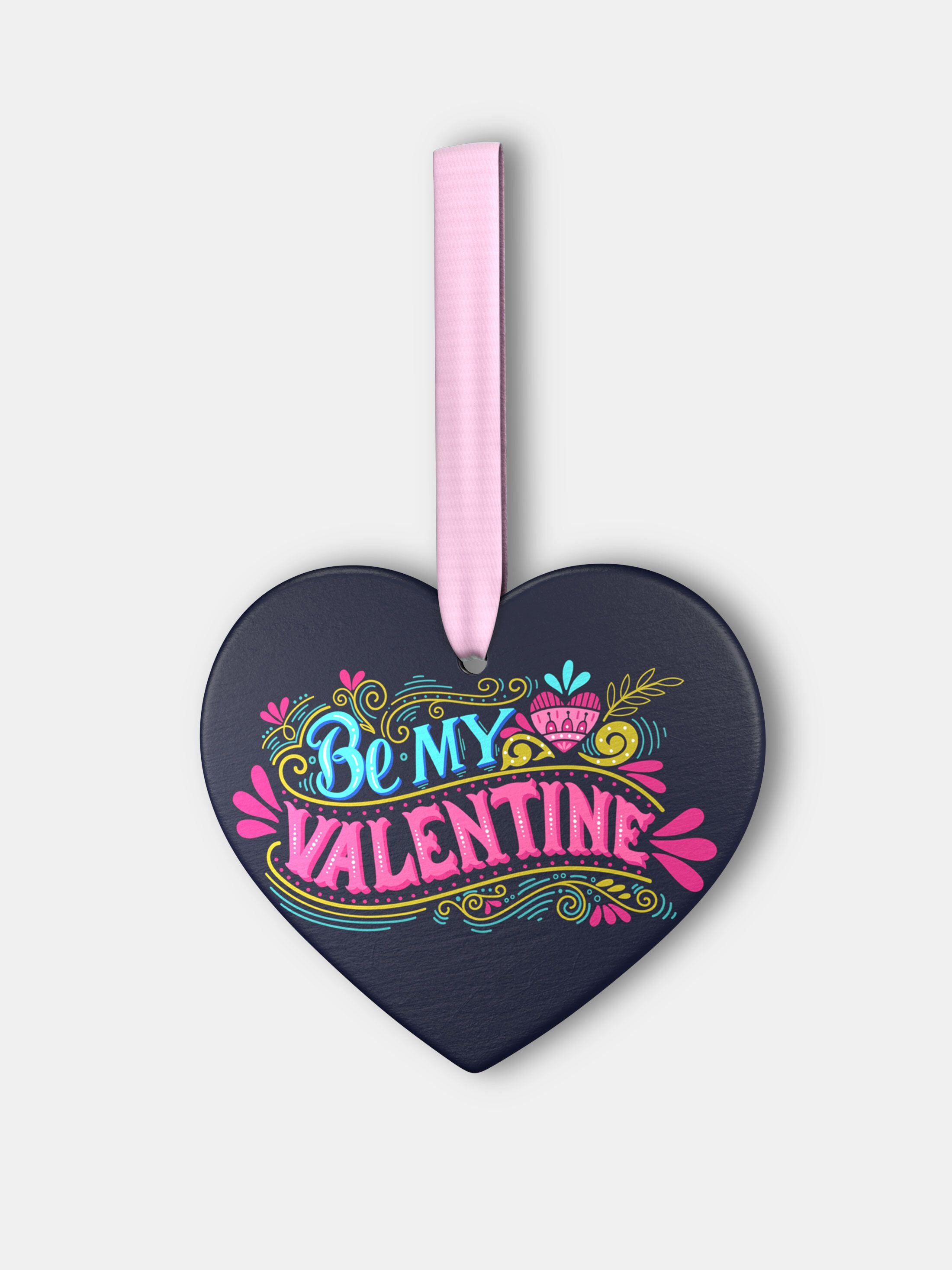 custom valentines ornament
