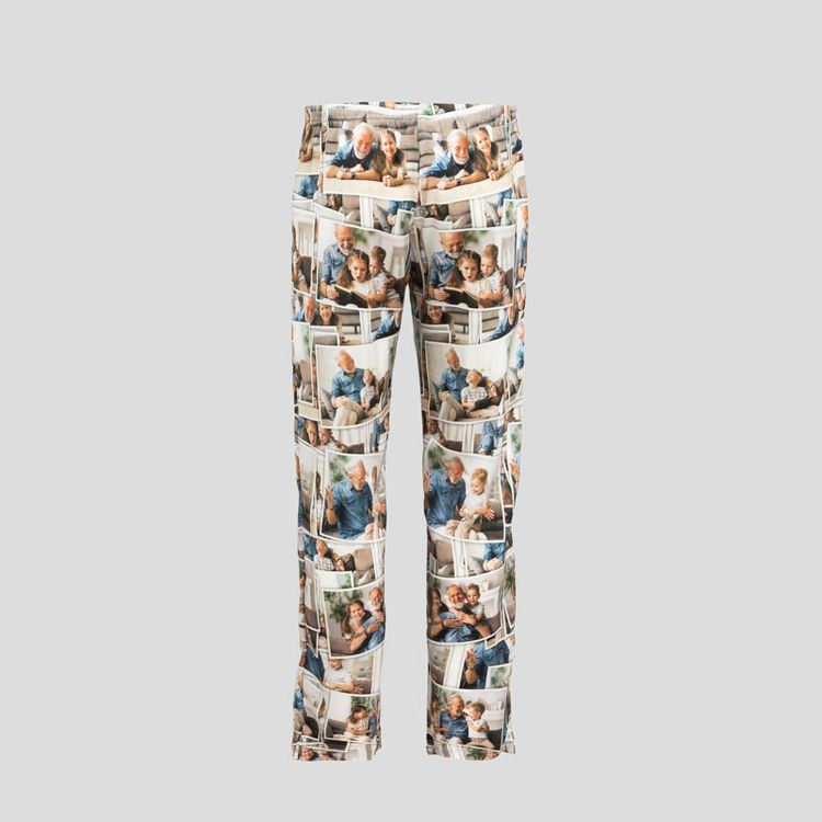 Personlig sidenpyjamas