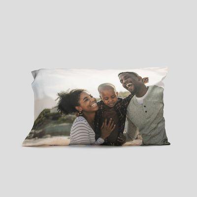 personalised silk pillowcase