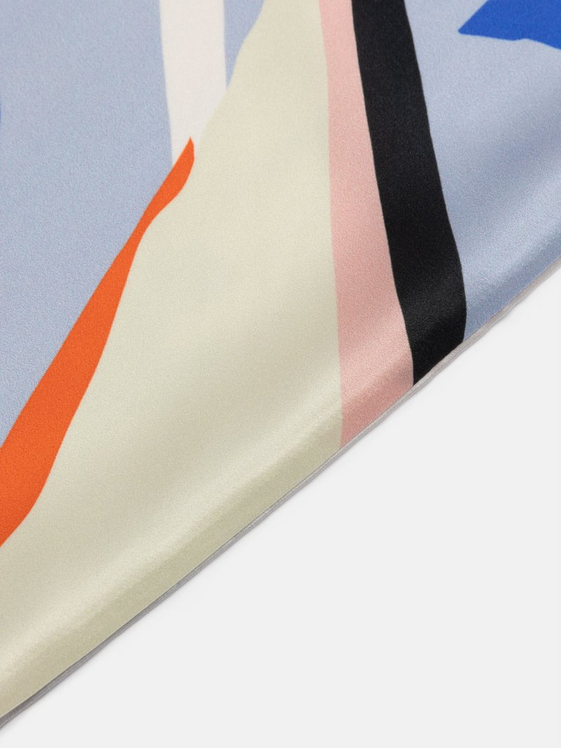 custom silk pillowcase details