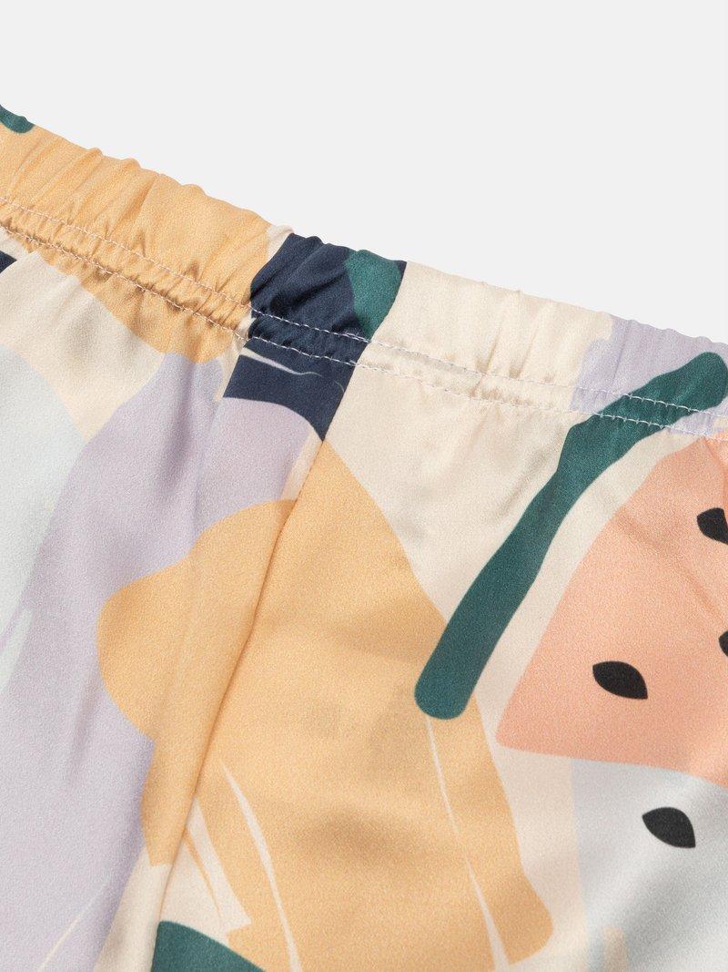 pyjama en soie avec photo
