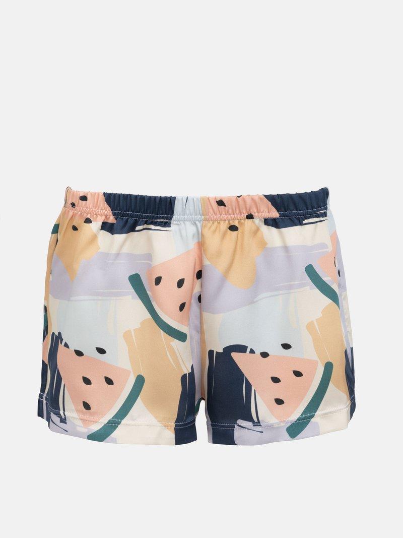 pigiama corto in seta donna personalizzati