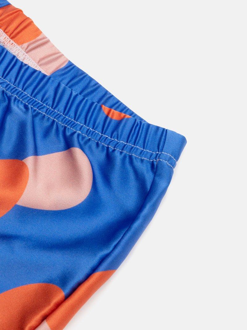 custom silk pajamas details