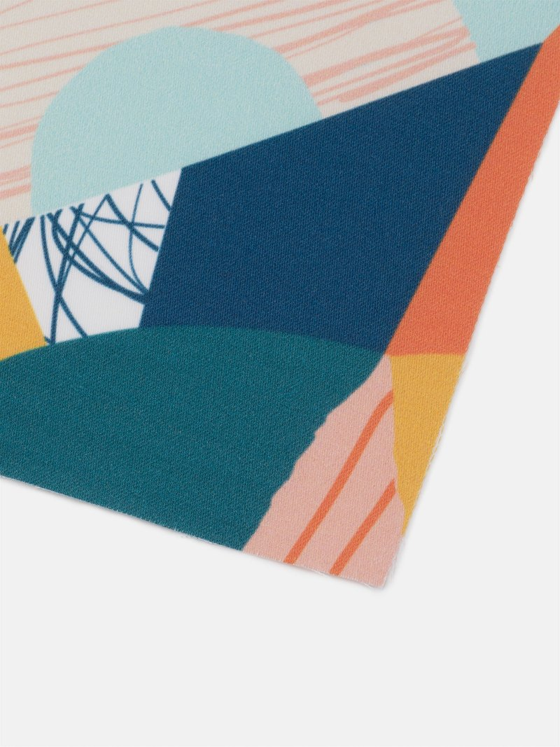 campione di tessuto da stampare