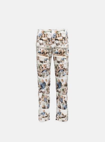gepersonaliseerde zijden pyjamabroek