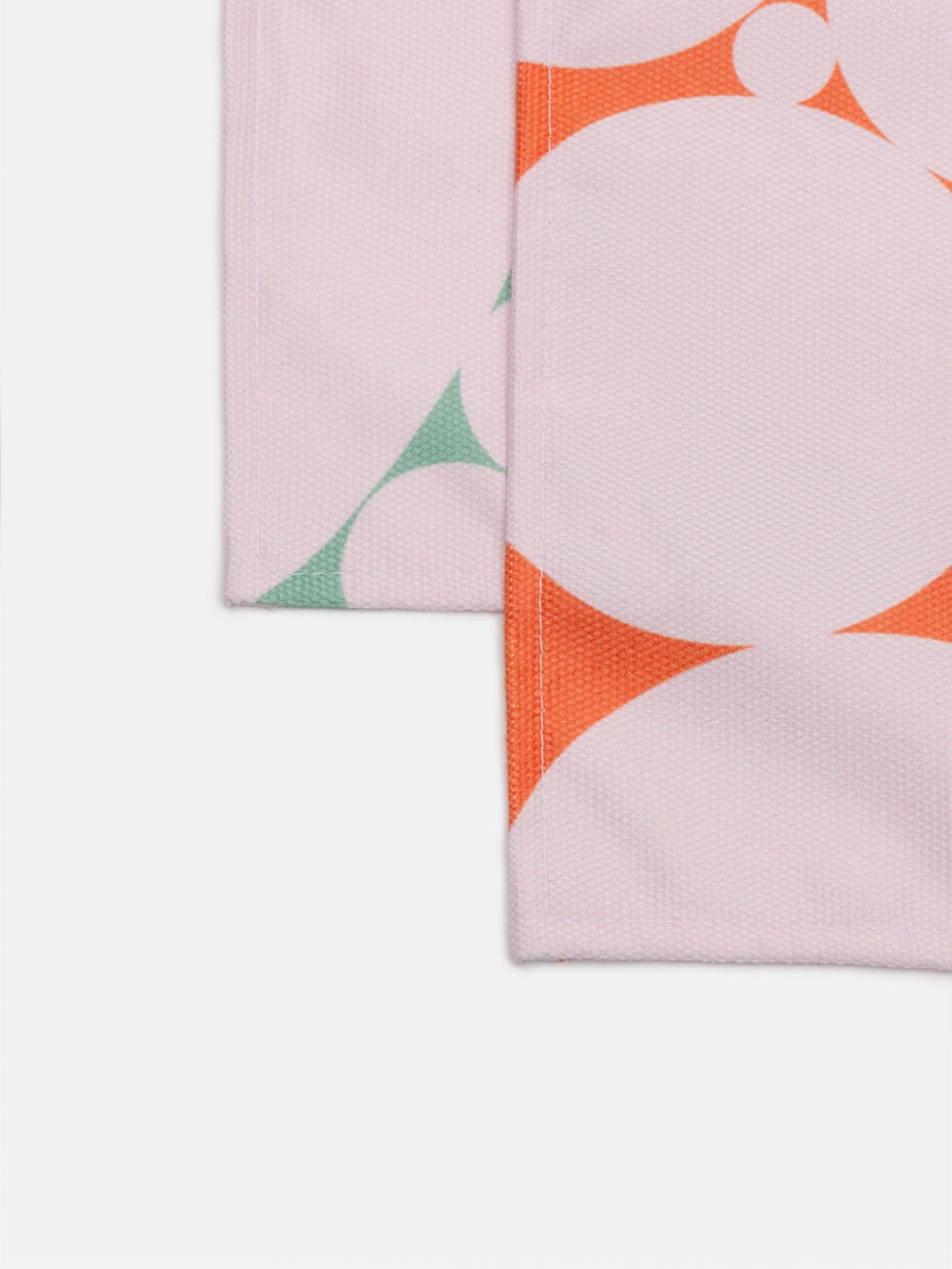 Détails du set de table tissu personnalisé