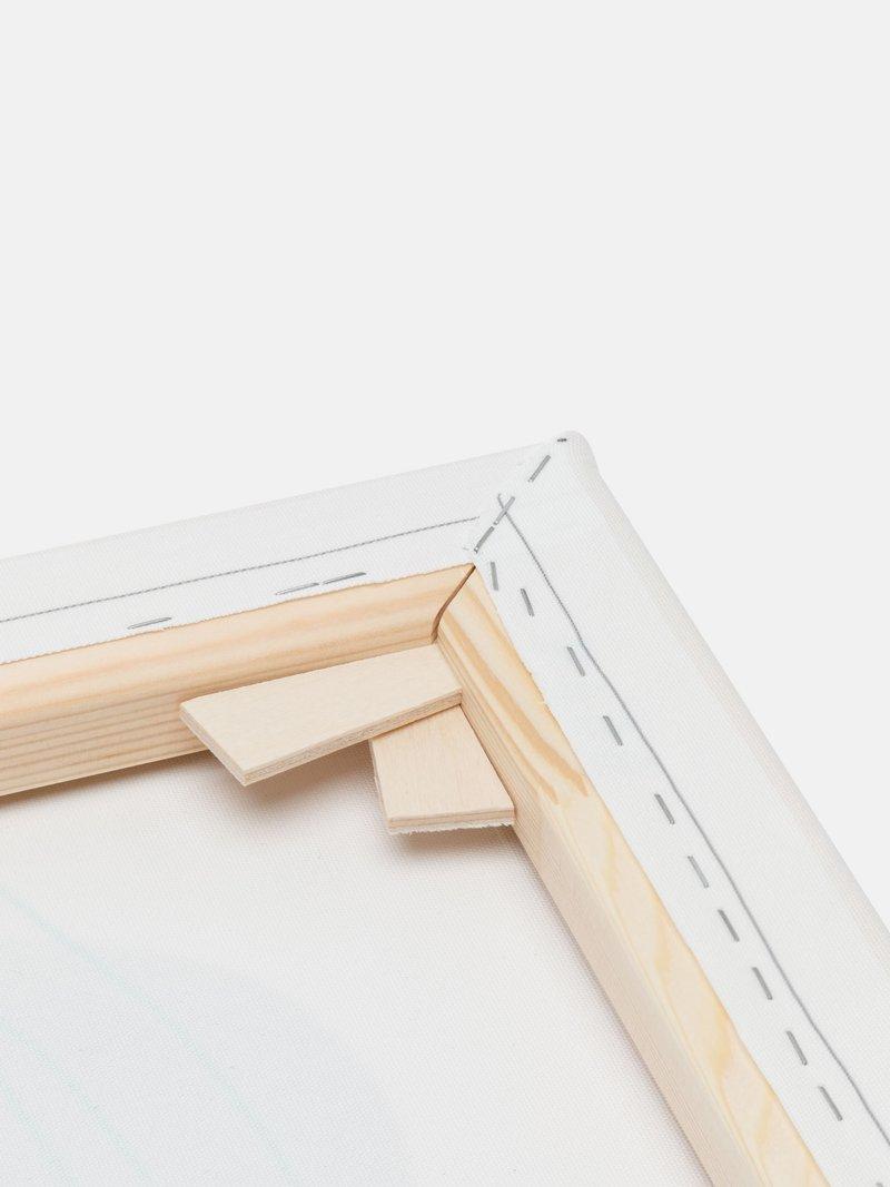 Cadre en bois de pin certifié FSC
