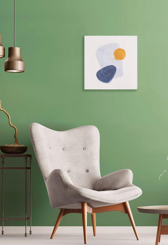 tela da parete personalizzata con arte colorata