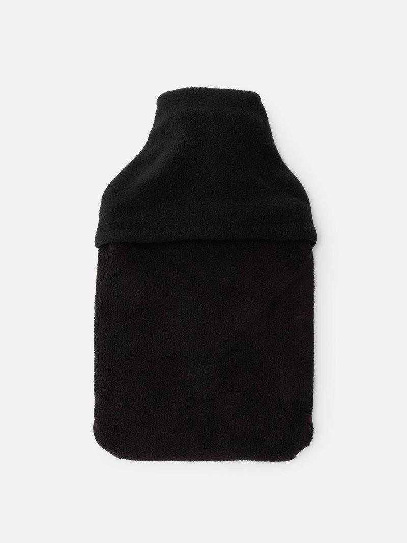 fleecehülle für wärmflasche rückseite geschlossen