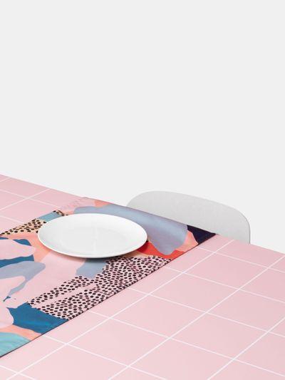 bordslöpare med eget tryck