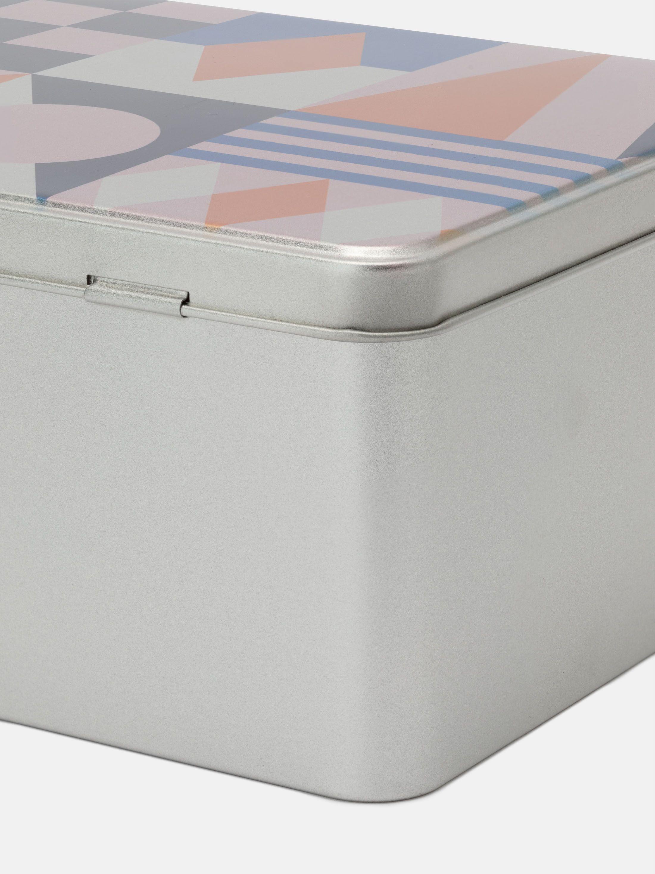 scatola per dolci in latta personalizzata
