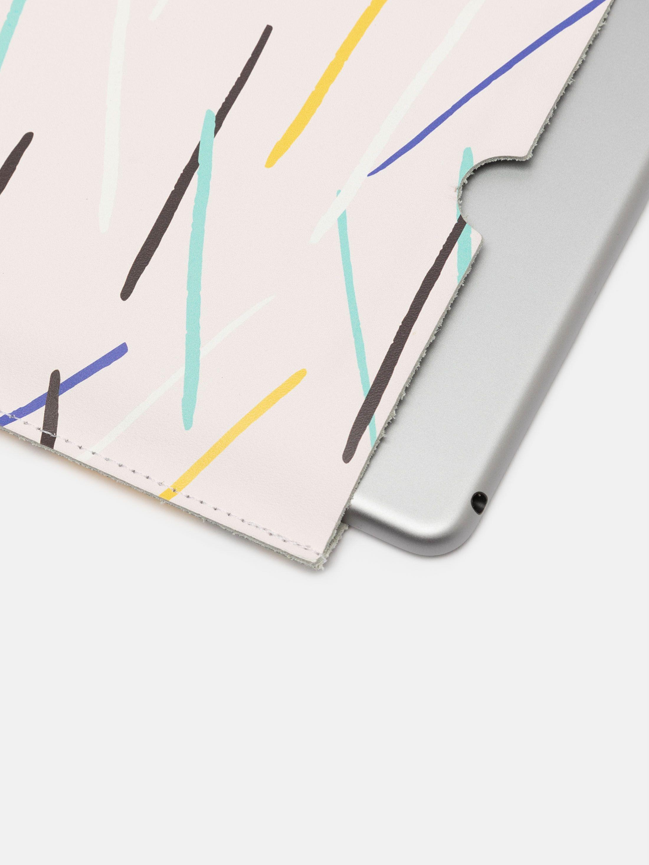 オリジナルiPad miniレザーケース