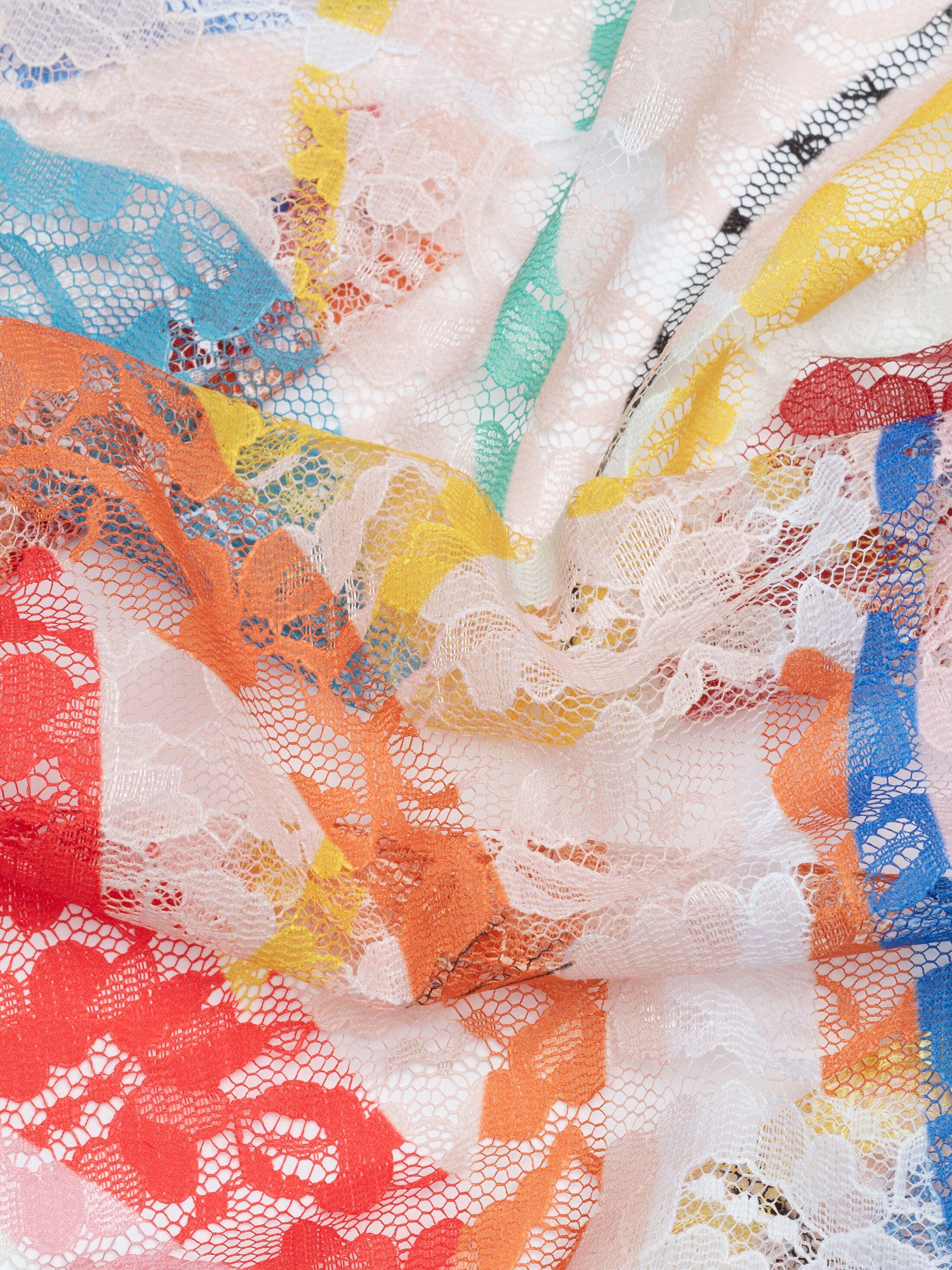 Impresión en tela de encaje floral online