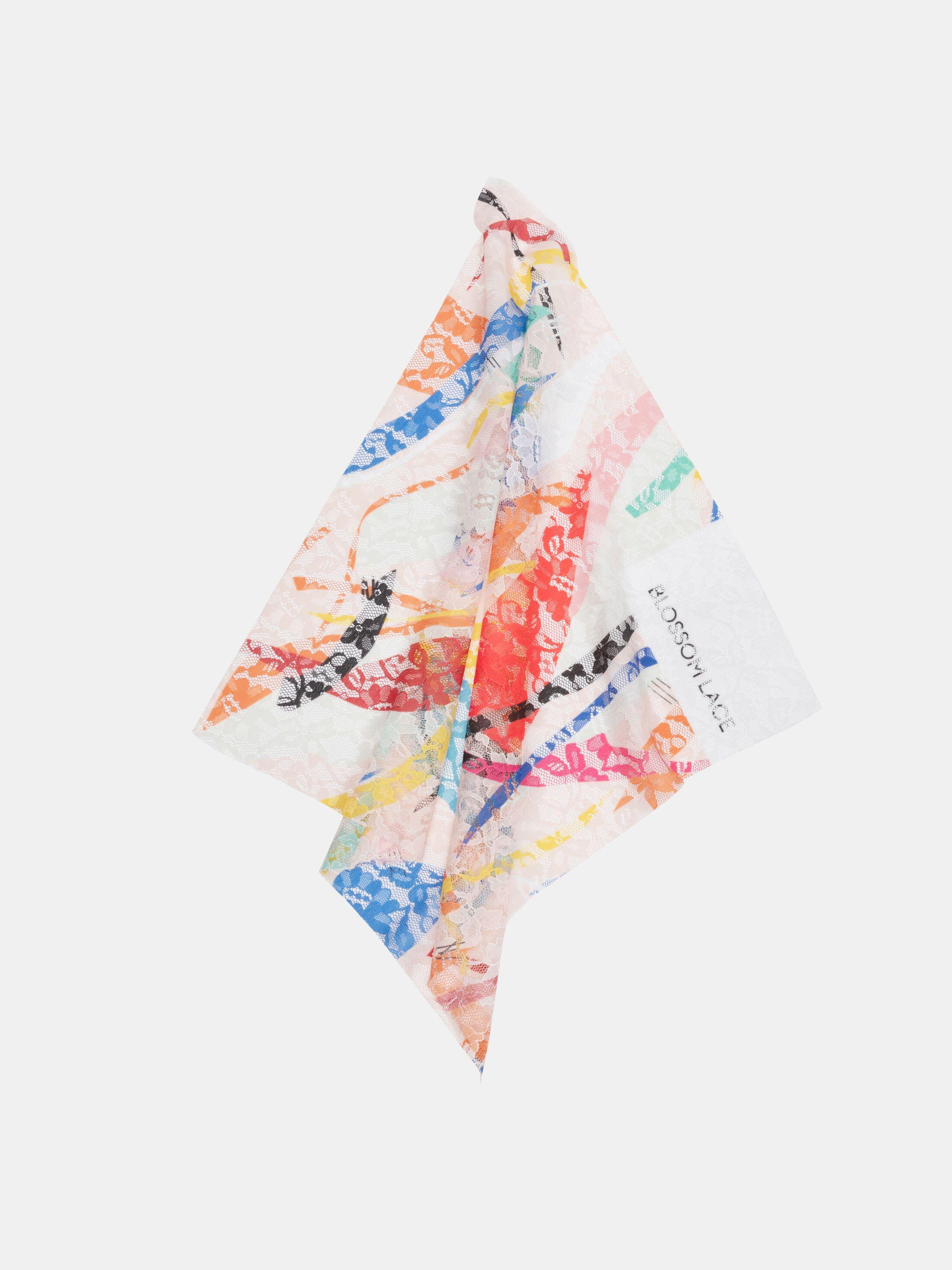 pizzo blossom lace  al metro da stampare