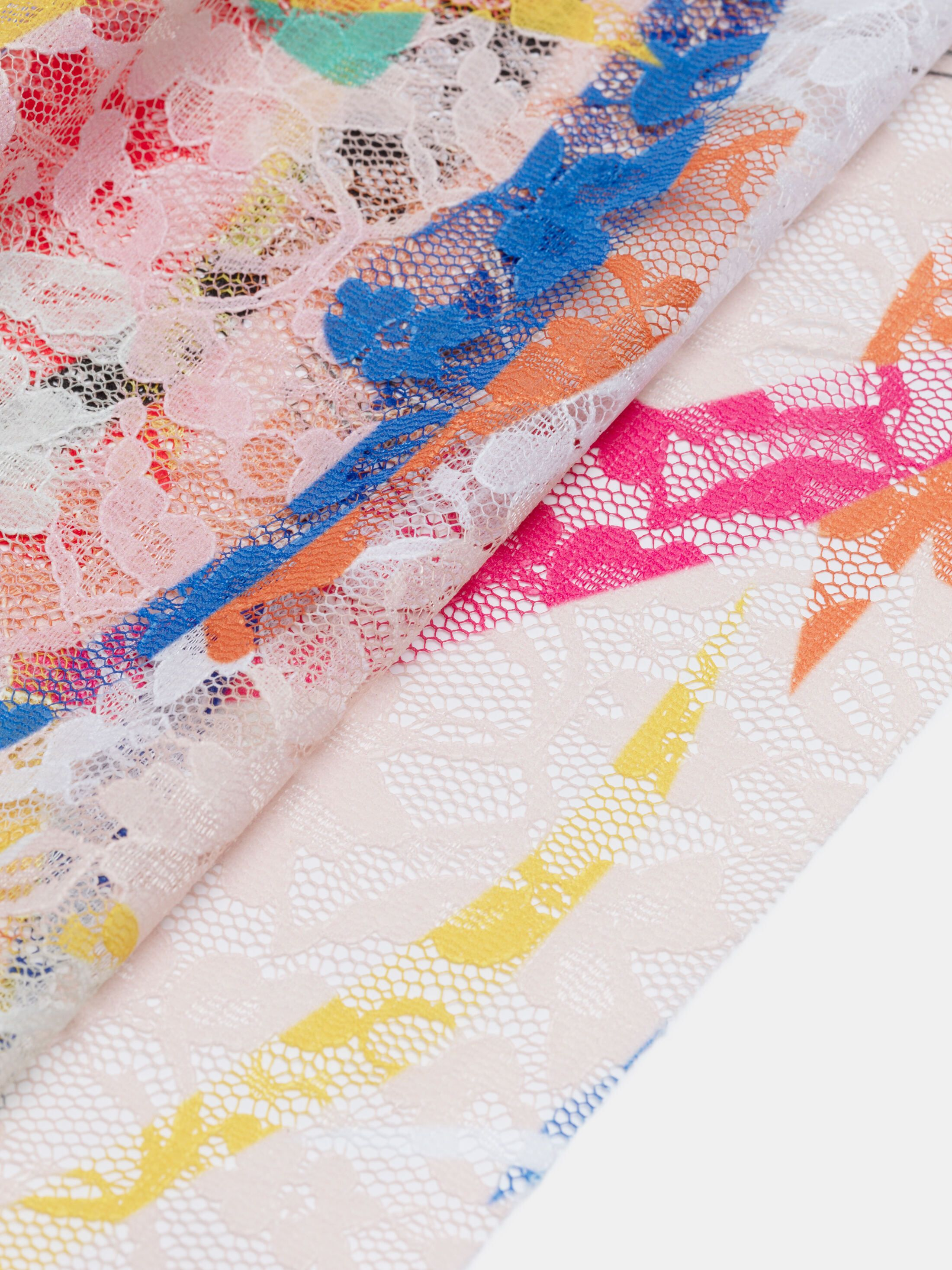 Impresión en tela de encaje por metros