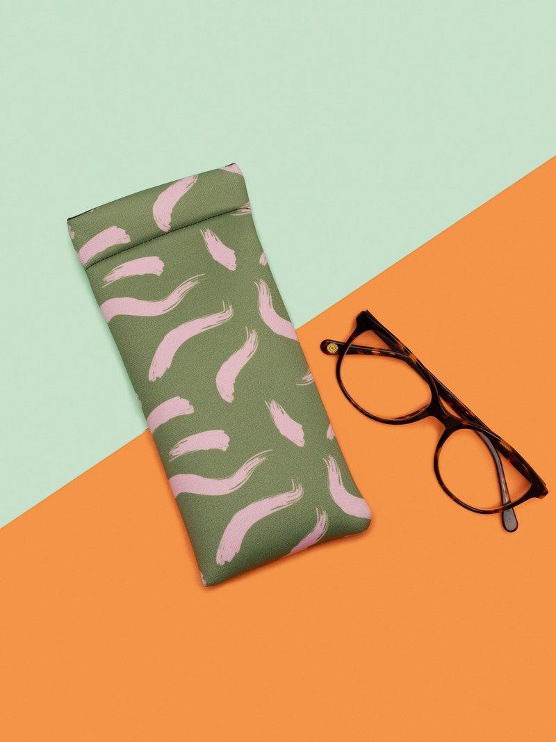 étui lunettes souple personnalisé