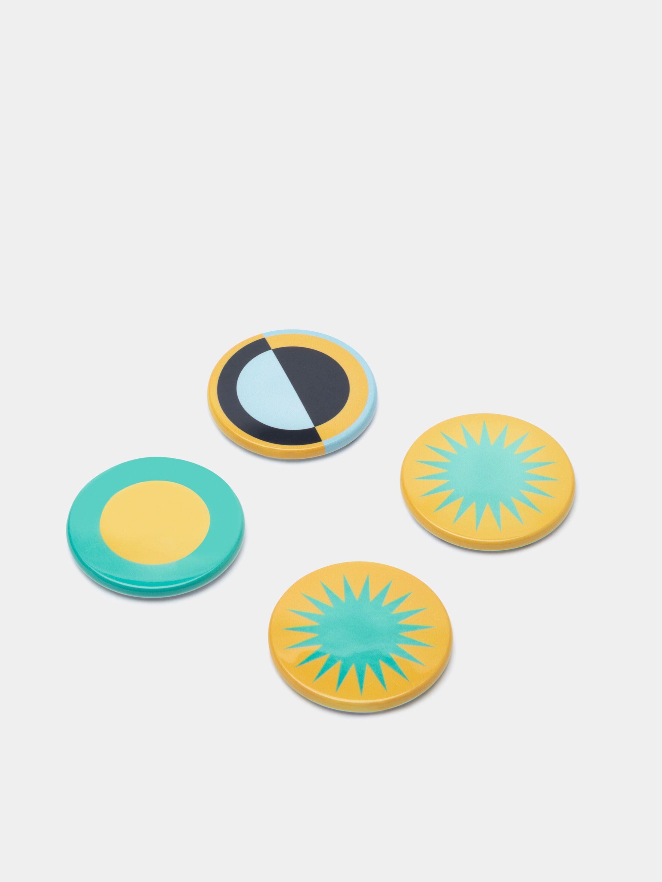 円形マグネット オリジナルデザイン 印刷