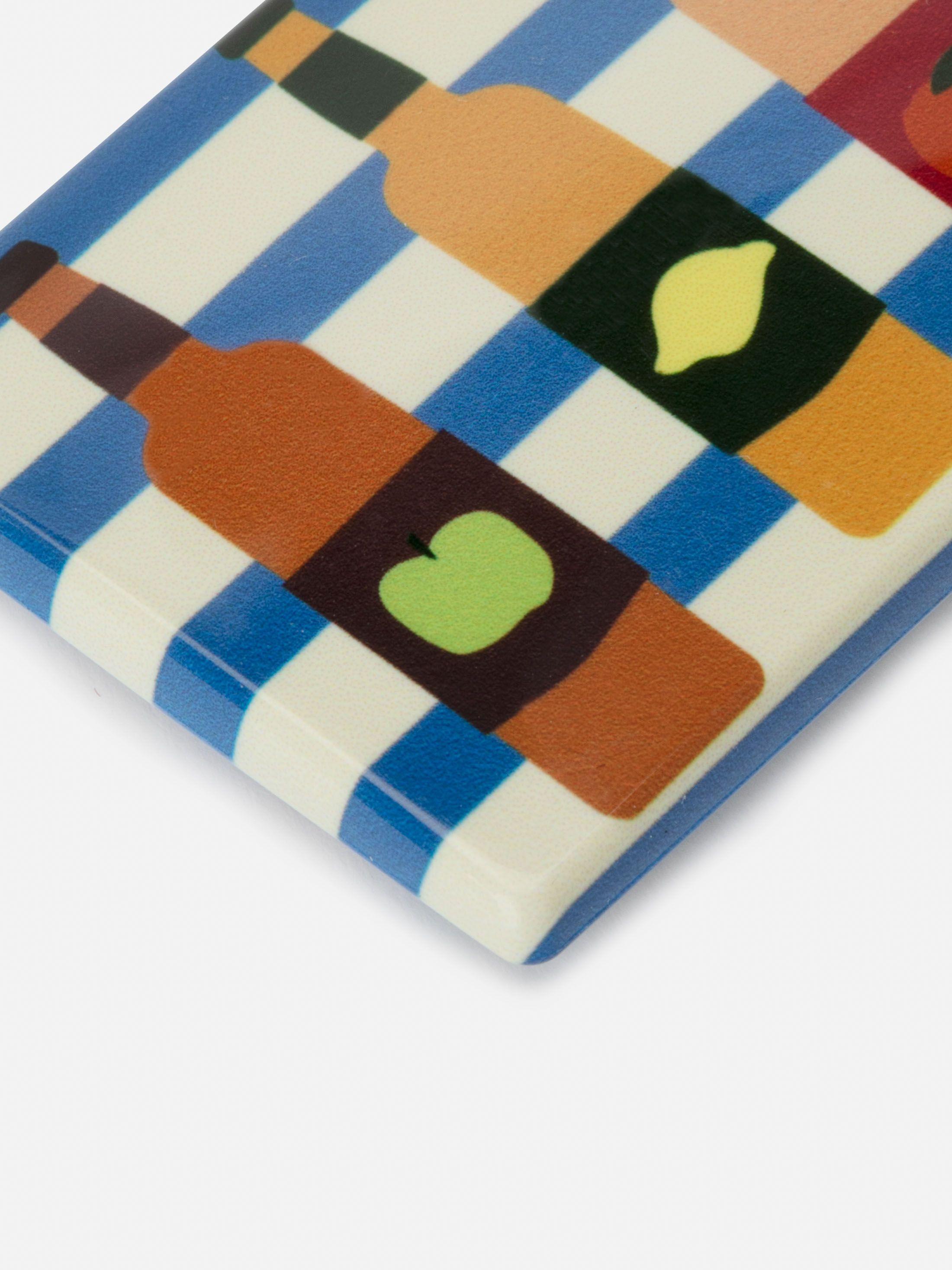 Magnet personnalisé rond en couleur