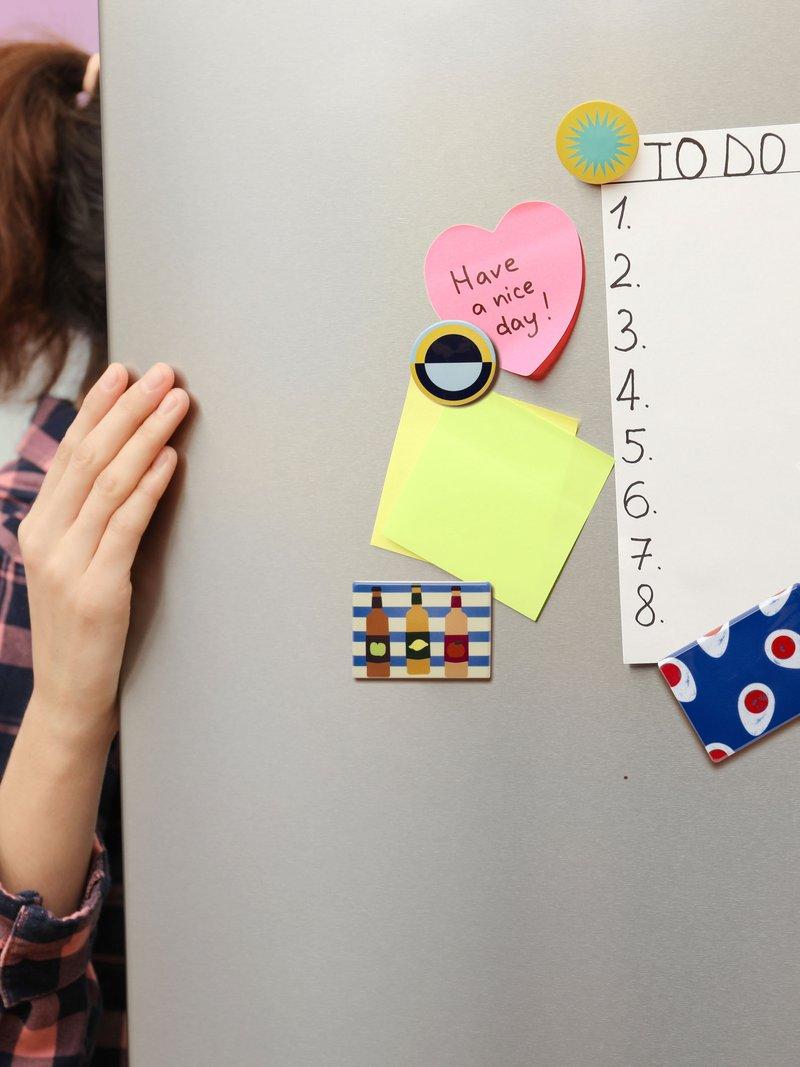 Magnet design amusant format rectangulaire
