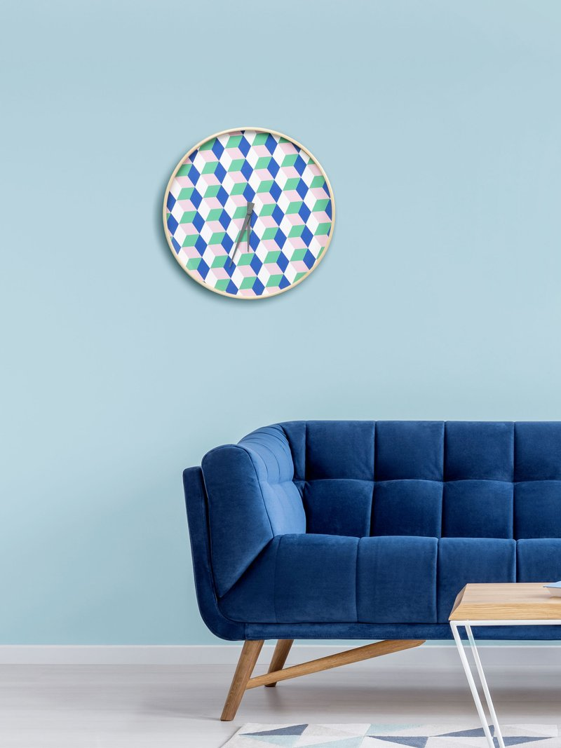 Horloge murale ronde modèle Attic