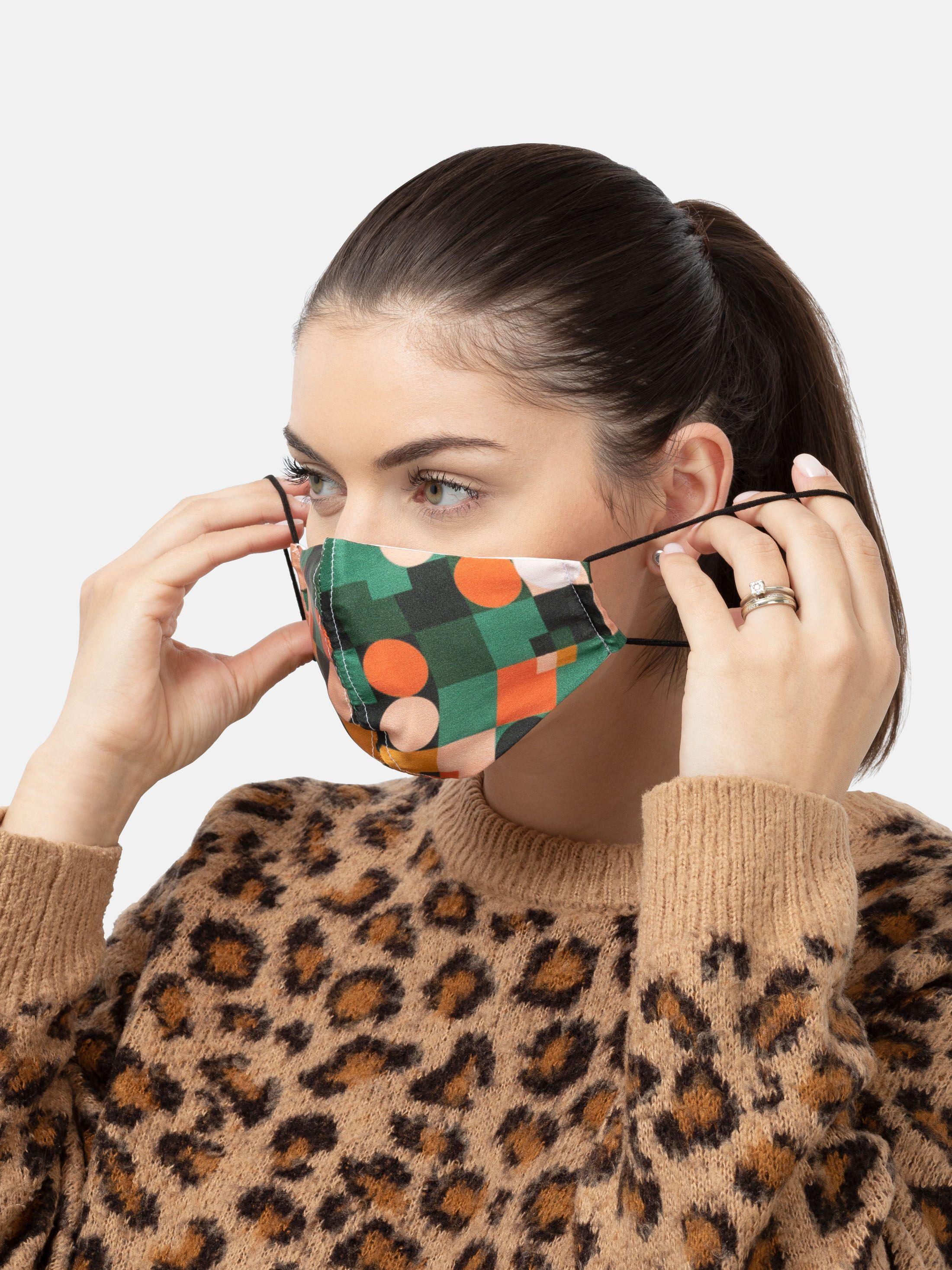 stampa su mascherine di seta