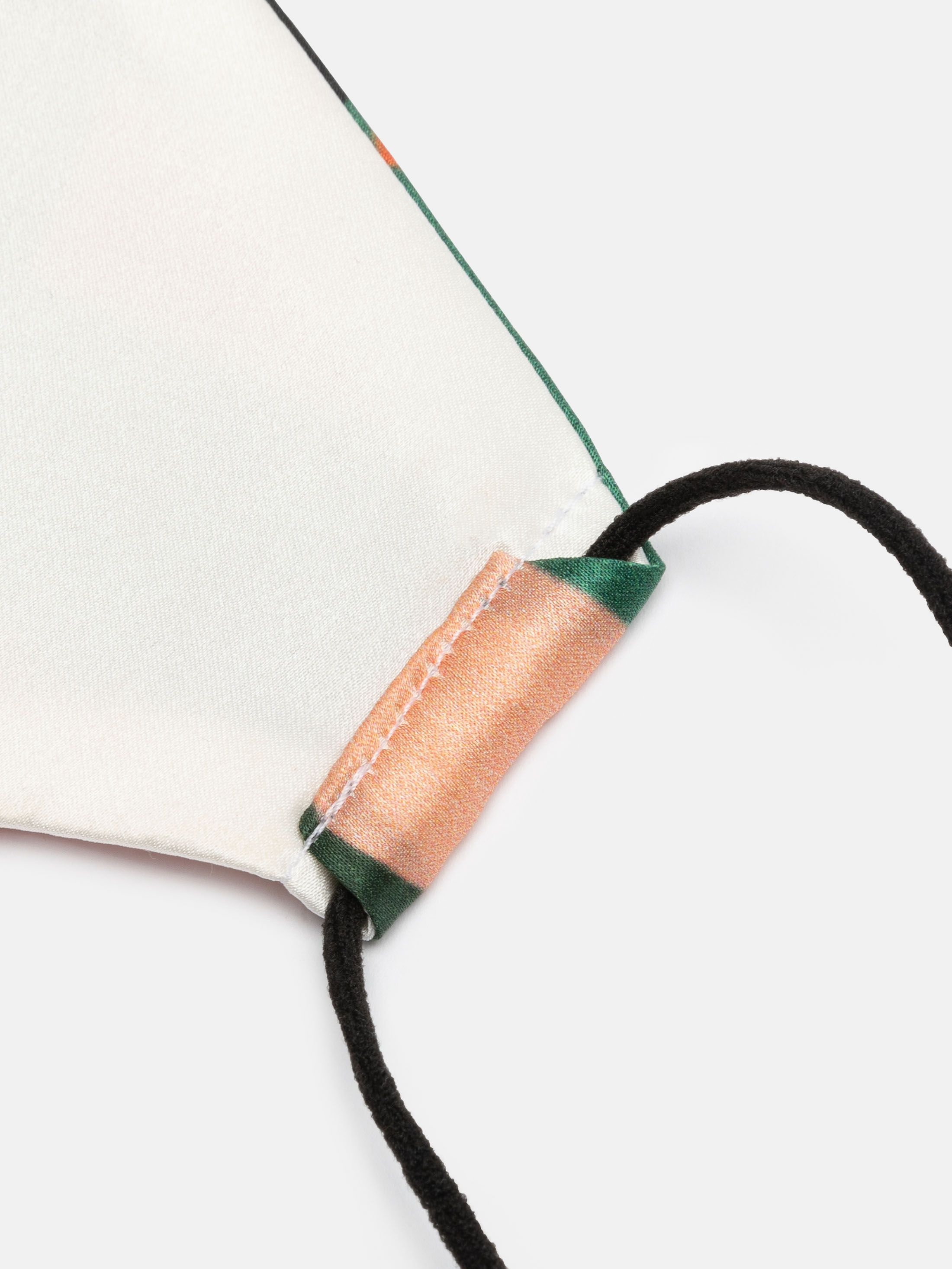 oorlussen zijden mondkapjes