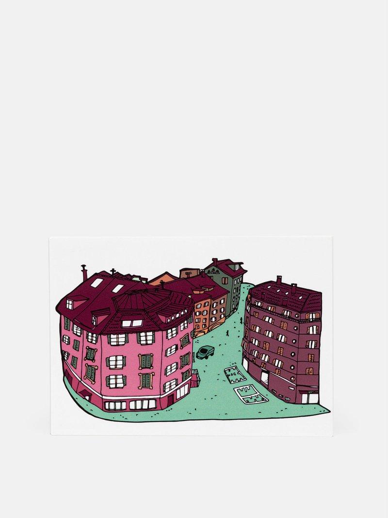 carte postale originale pour artistes et designers