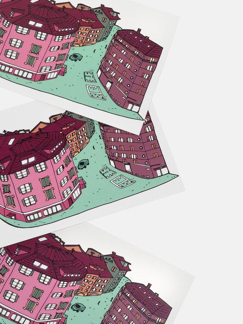 postkarten drucken online