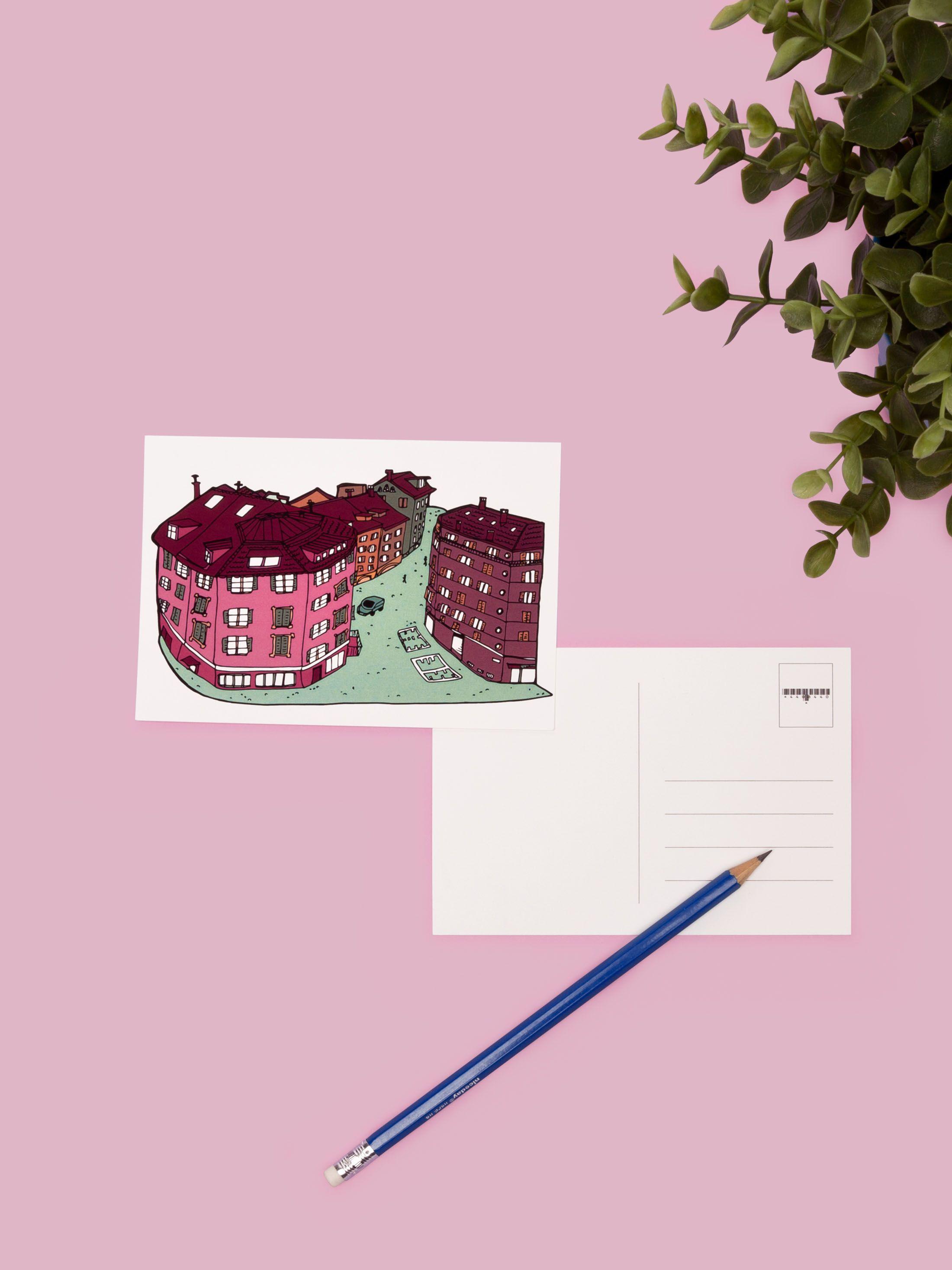 postkarten selbst gestalten