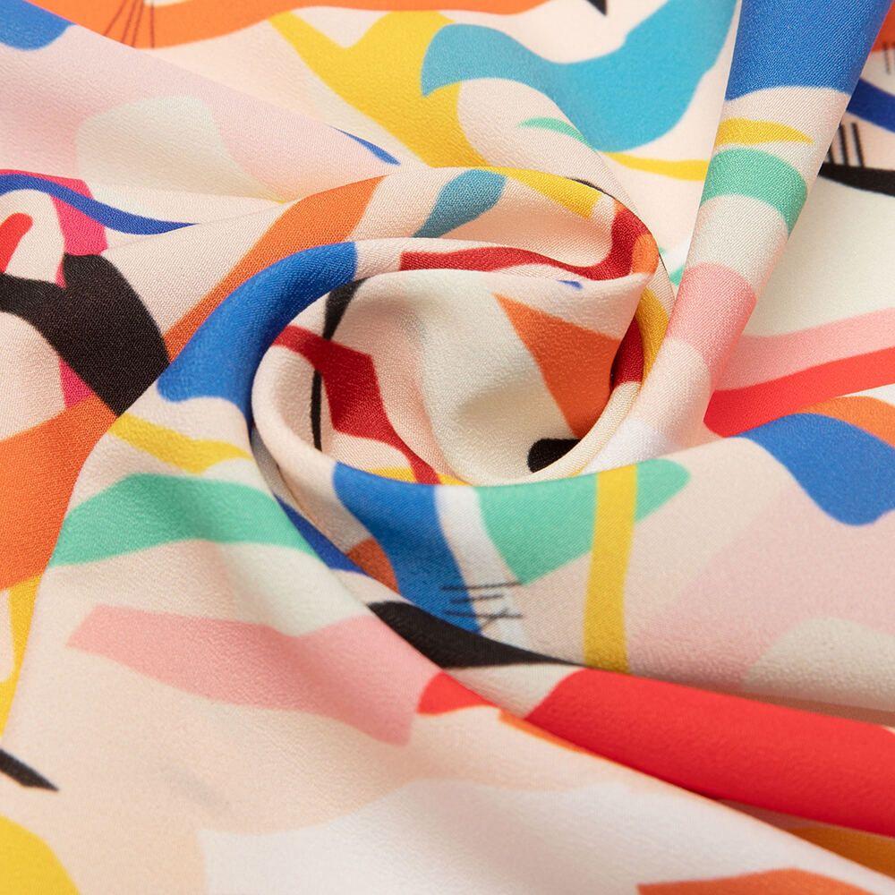 design your own silk crepe de chine