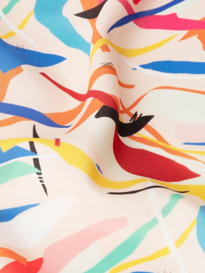 zijden crepe de chine met design bedrukken