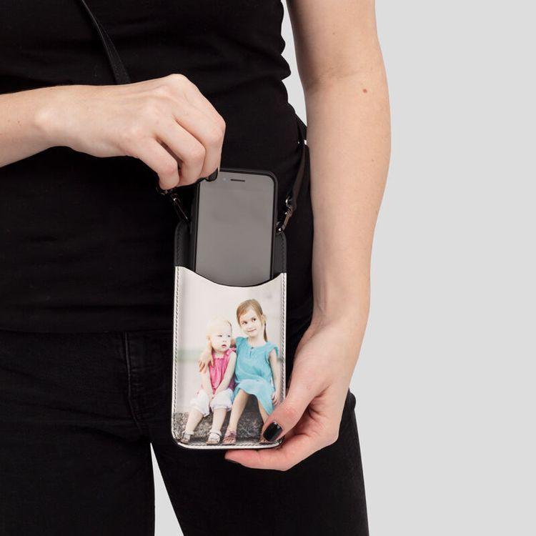 Porta Cellulare in Pelle Personalizzato
